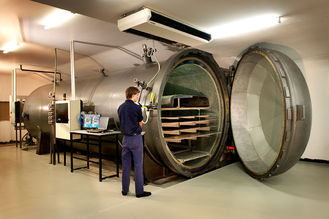 China Wood Autoclave High Pressure supplier