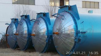 China High Steam AAC Horizontal Autoclave Concrete for Pharmaceutical supplier