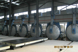 China Chemical Industrial Concrete AAC Autoclave Pressure Vessel With Saturated Steam supplier