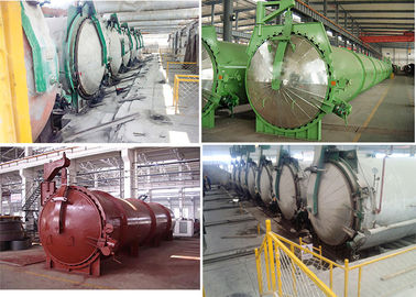 China Sand Lime Fly Ash AAC Autoclave Panel High Efficiency Stable factory