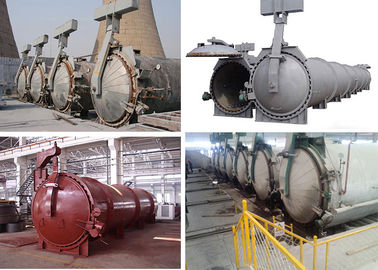 China High Temperature Steam Pressure AAC Autoclave For AAC Block Making Plant distributor