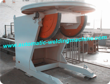 China VFD Control Pipe Welding Positioner , Rotary Welding Table , Welding Turning Table distributor