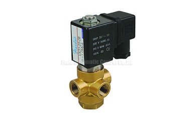 "China 3/2 Way Direct Acting Brass Solenoid Valve G1/8"" G1/4"" For Vacuum System distributor"