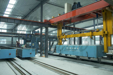 China Autoclaving Sand Lime Block Manufacturing Machine 150000m3 High Capacity distributor