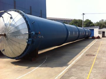 China High Temperature Wood Glass Autoclave Door For Glass Industrial , Φ2.8m factory