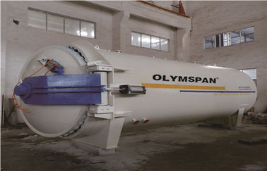 China Chemical Laminated Vulcanizing Autoclave Aerated Concrete / Autoclave Machine Φ2m factory