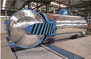China Food Pneumatic Vulcanizing Industrial Autoclaves Φ1.8m Of Large-Scale Steam Equipment factory