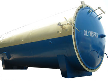 China Laminated Glass Autoclave For Wood / Brick / Rubber / Food , Light Weight distributor