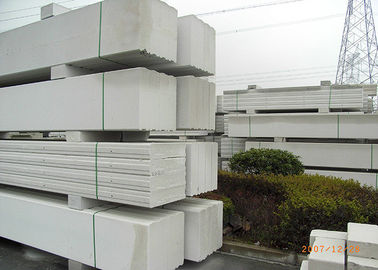 China Fireproof Lightweight Wall Panel Machine With Autoclaved Aerated Concrete factory