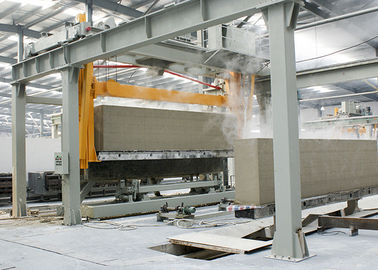 China Full Automatic Autoclaved Aerated Concrete AAC Block Machine / AAC Brick Plant factory